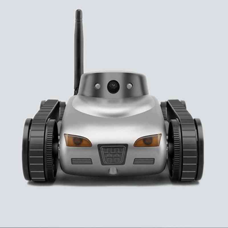 Rc Car With Camera Wifi Remote Control Tank Toy