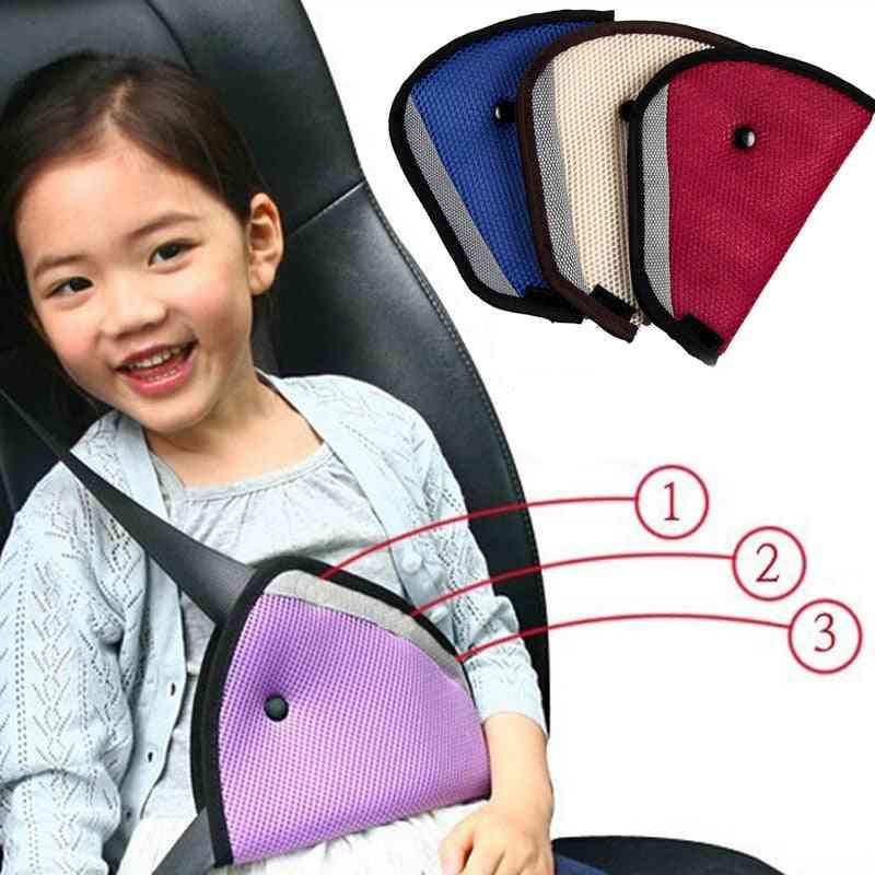 Car Safe Fit Seat Belt Adjuster Device - Baby Protector Cover