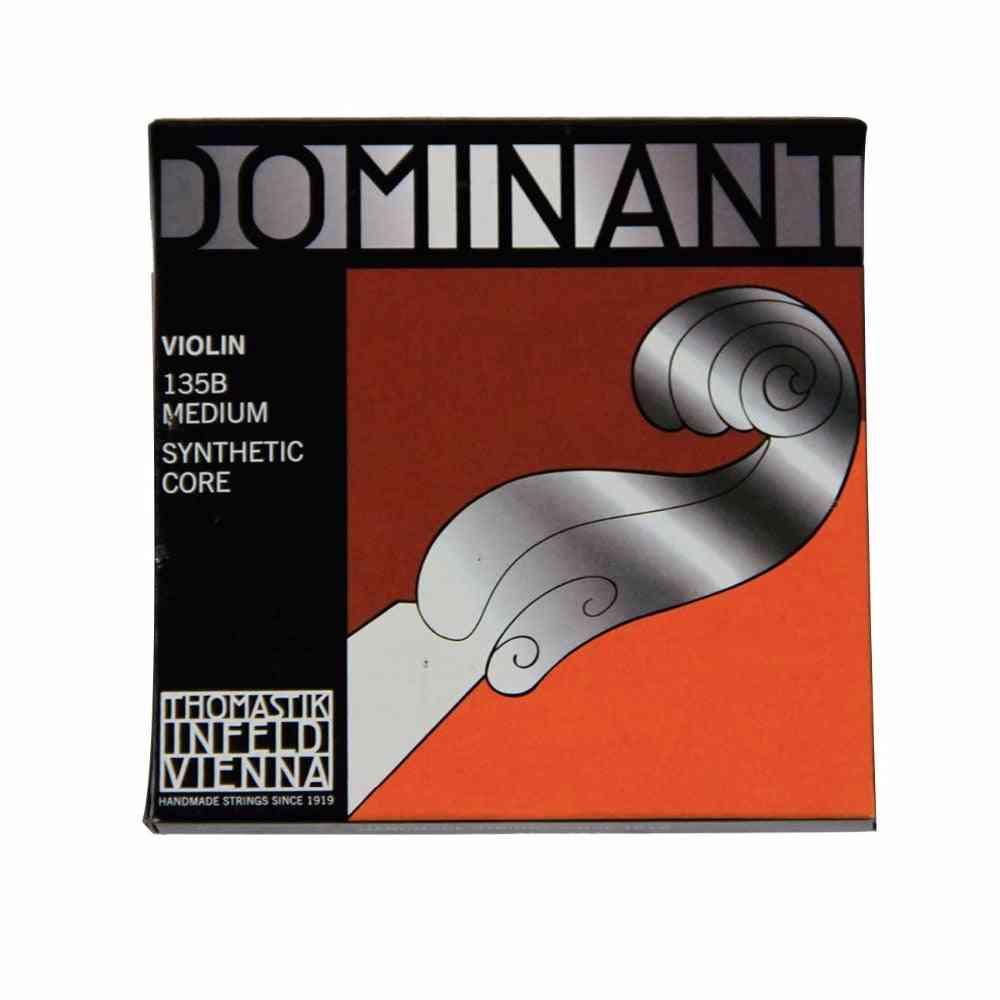 Thomastik Dominant,135b Medium Violin Strings 4/4 Full Set