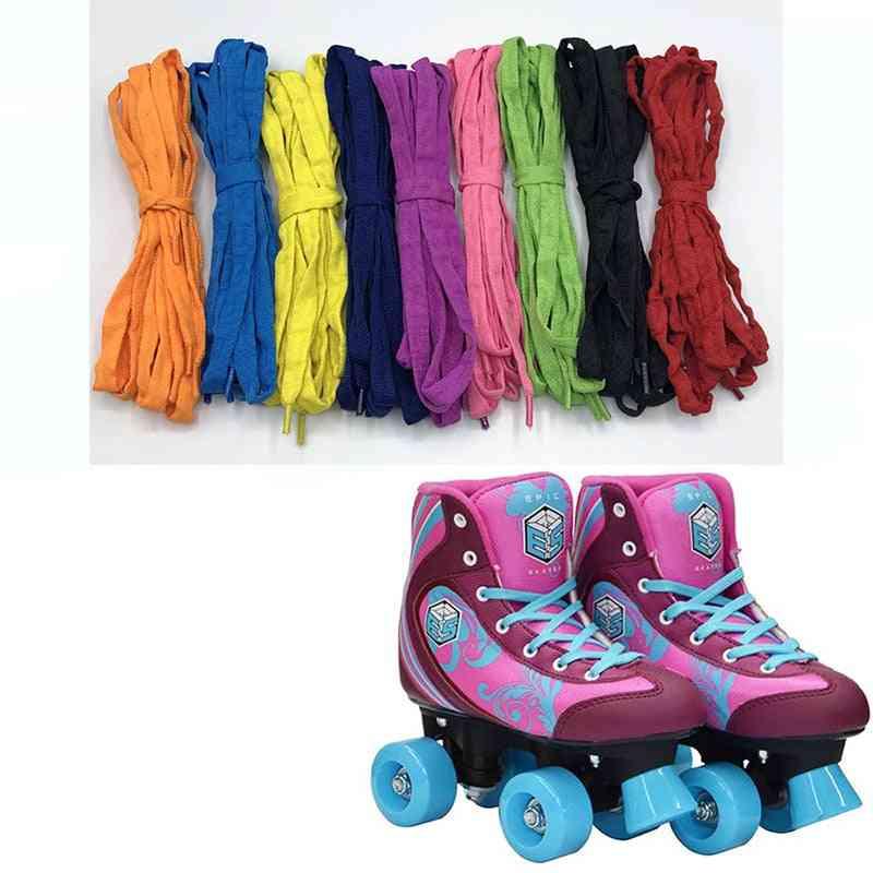 Skate Shoe Laces, Cotton Fiber Wear Resistant