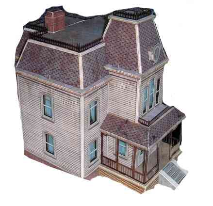 Hotel Paper Model Of Ghost House Series