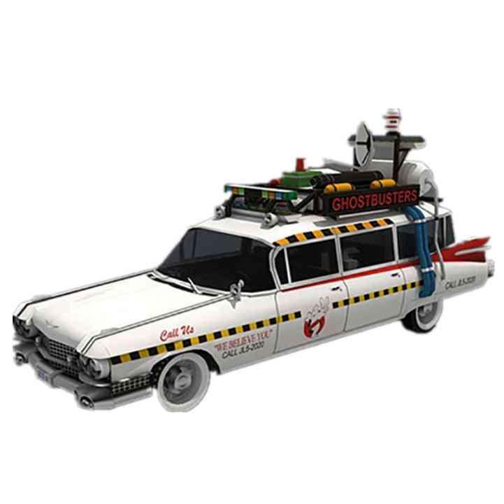 Ghostbusters Ecto-1a Wheels Car Model