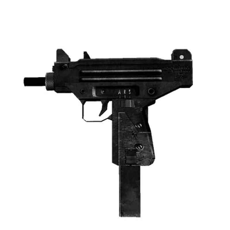 3d Paper Model, Uzi Submachine Pistol