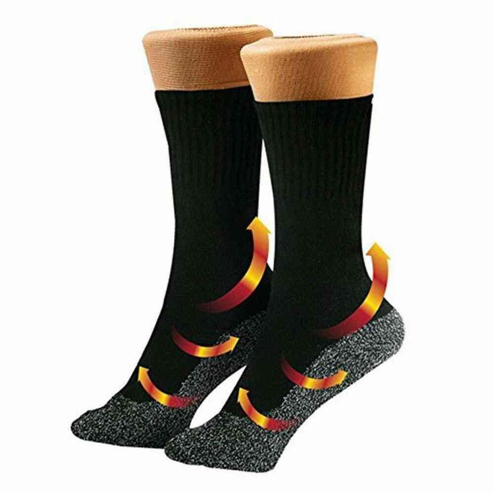 Winter Mountaineering Ski Socks, 35 Degrees Warm Comfort
