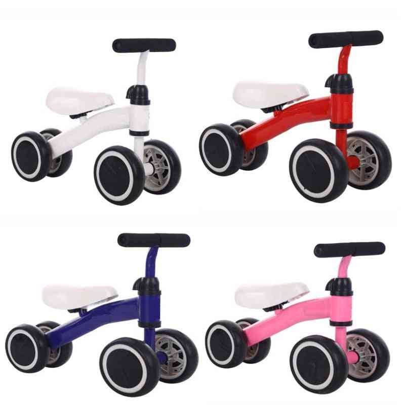 Non-foot Two Wheeled Scooter, Balance Slide Car, Bicycle Simple Walker Tricycle For Baby
