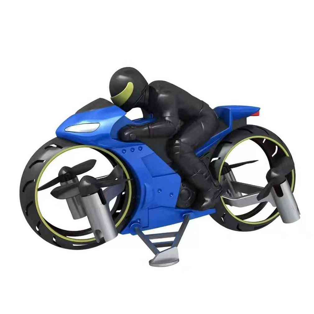 Rc Motorcycle Toy, Remote Control Amphibious Four Axis Uav