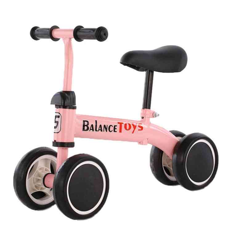 Children's Balance Bike Scooter-four-wheels Outdoor Sports Toy