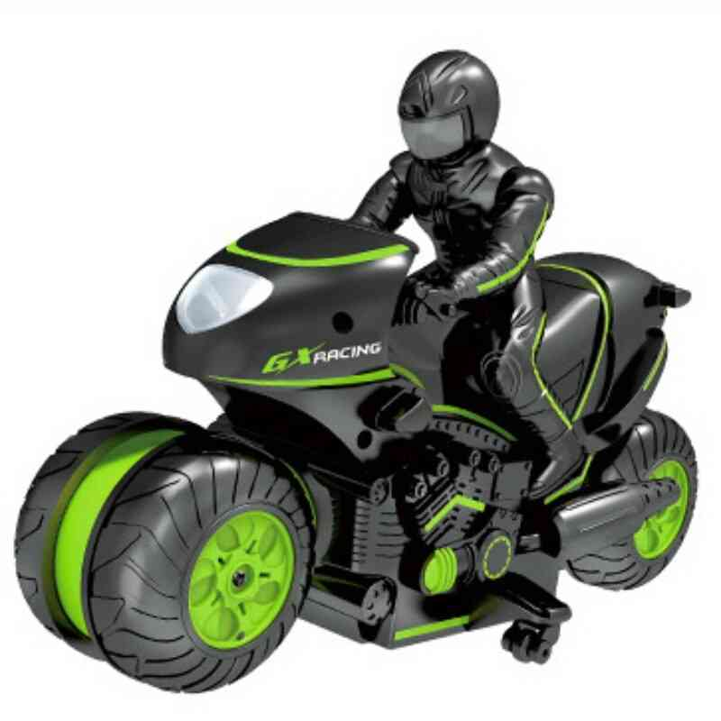 Mini Stunt Electric Motorcycle With Remote Control For