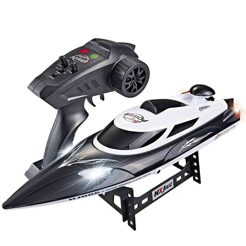 180 Fast Flip, Waterproof, High Speed Rc Racing Boat With Led Lights