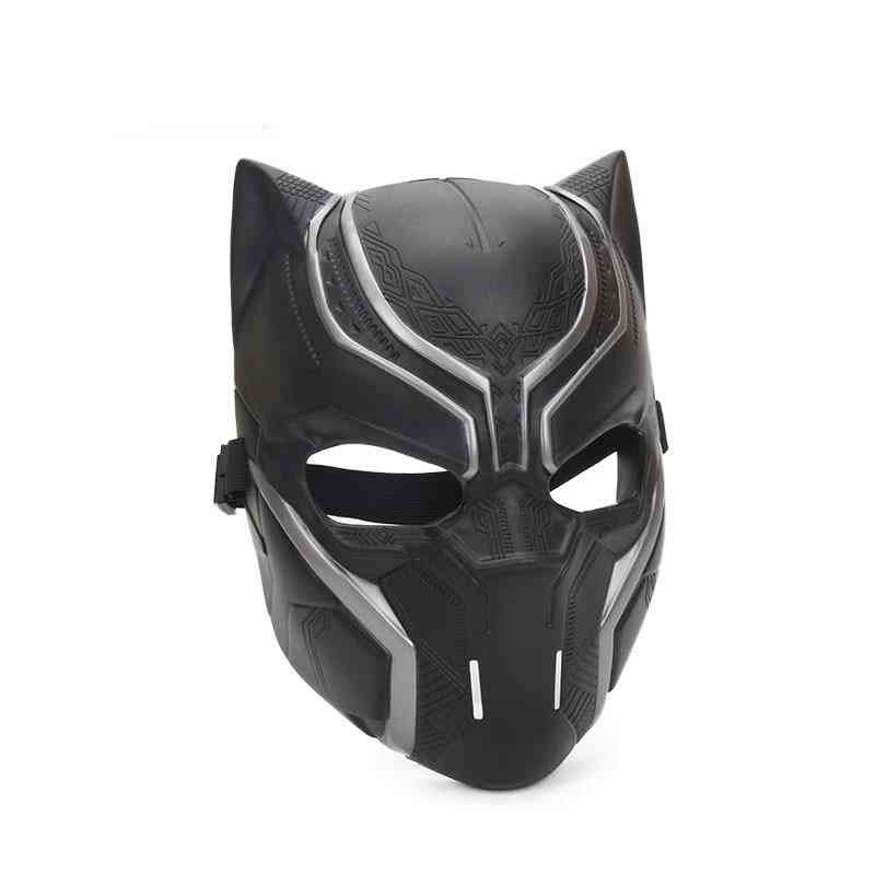 Black Panther Full Face - Halloween Party Prop