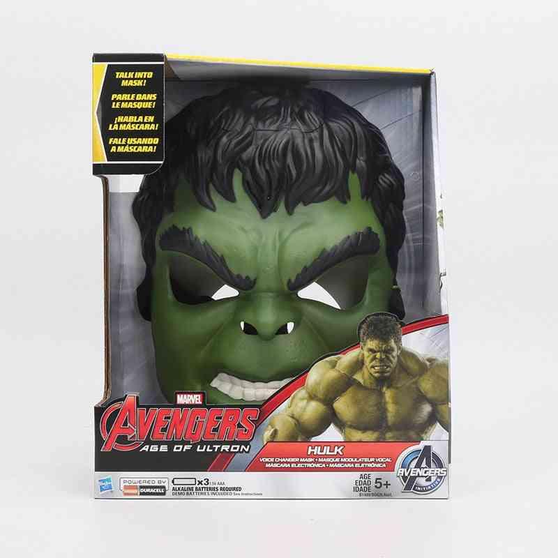 Hulk And Iron Man  Voice Changer Mask