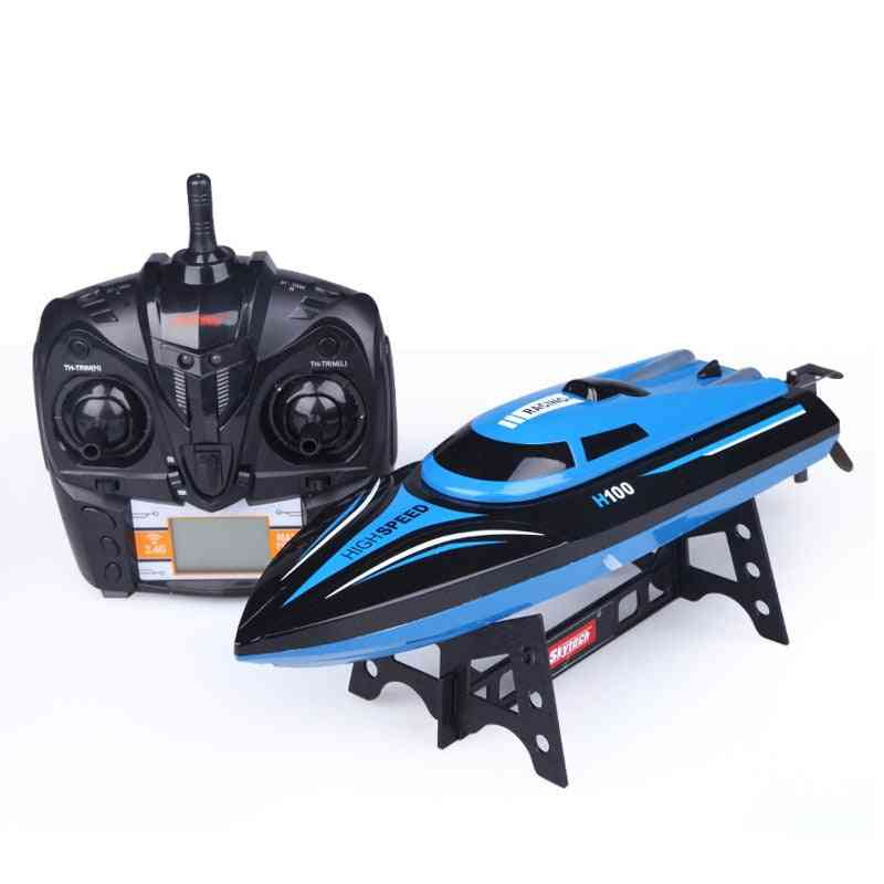 High Speed Remote Control Boat With Lcd Screen On Transmitter