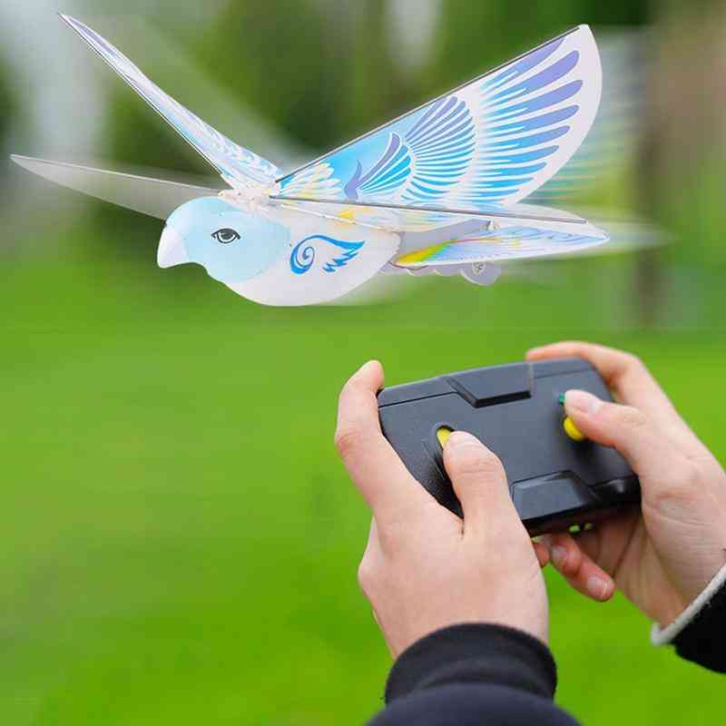 2.4 Ghz Remote Control Bird Airplane-electric Mini Drone Toy For Kids