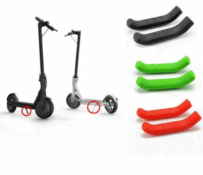 Universal Silicone Brake Handle Cover/protector For Electric Scooter