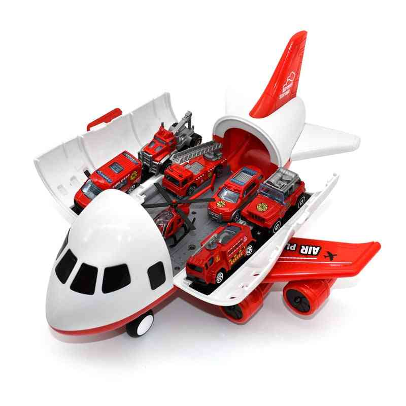 Airplane Toy -large Storage Transport Aircraft With Alloy Truck Vehicle