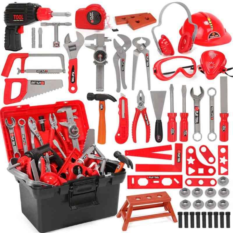 Pretend Play Environmental, Plastic Engineering Maintenance Tool Toy For
