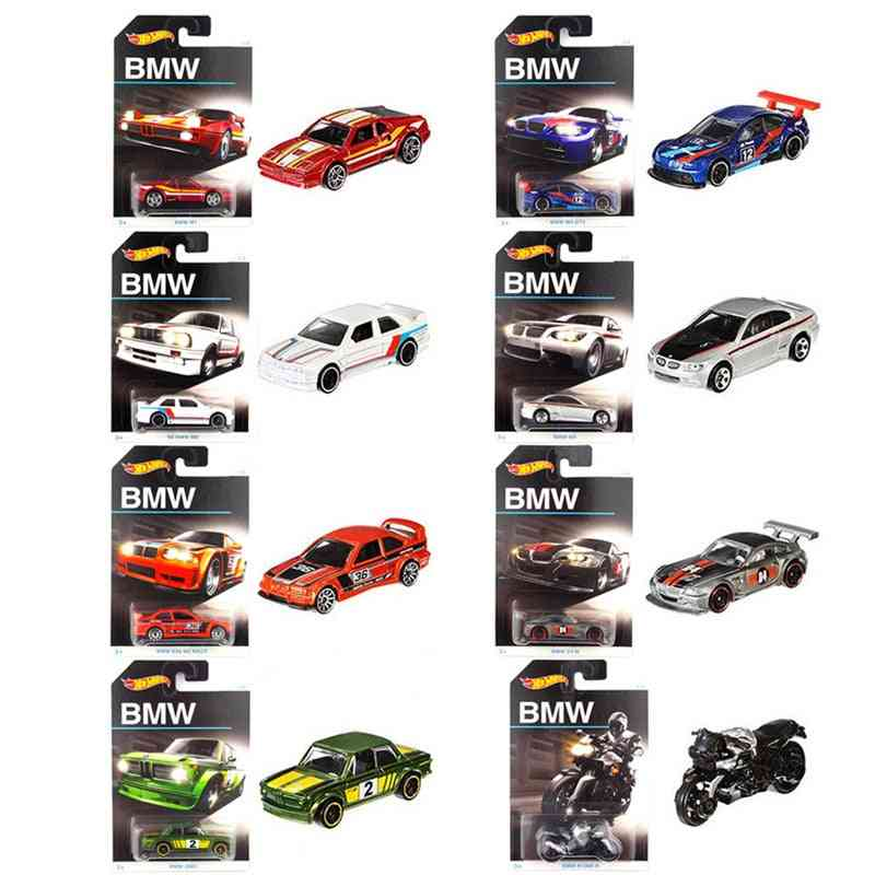 Sports Car Collector Edition Set, Diecasts Metal Toy Vehicles For Boy