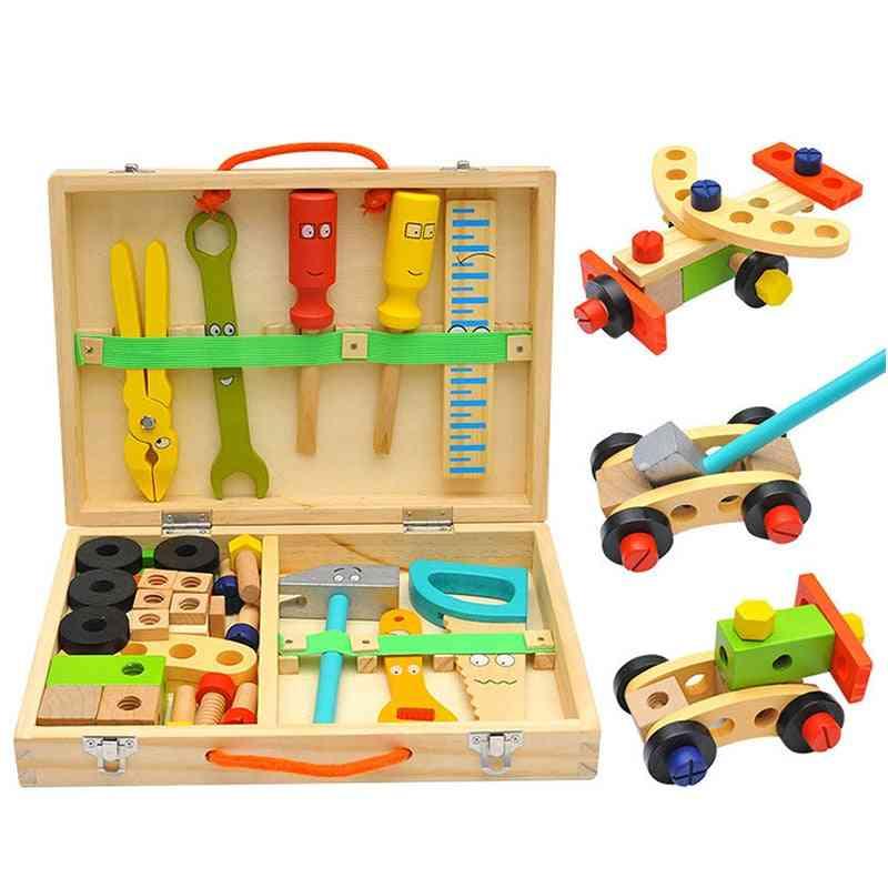 Wooden Toolbox, Pretend Play Set