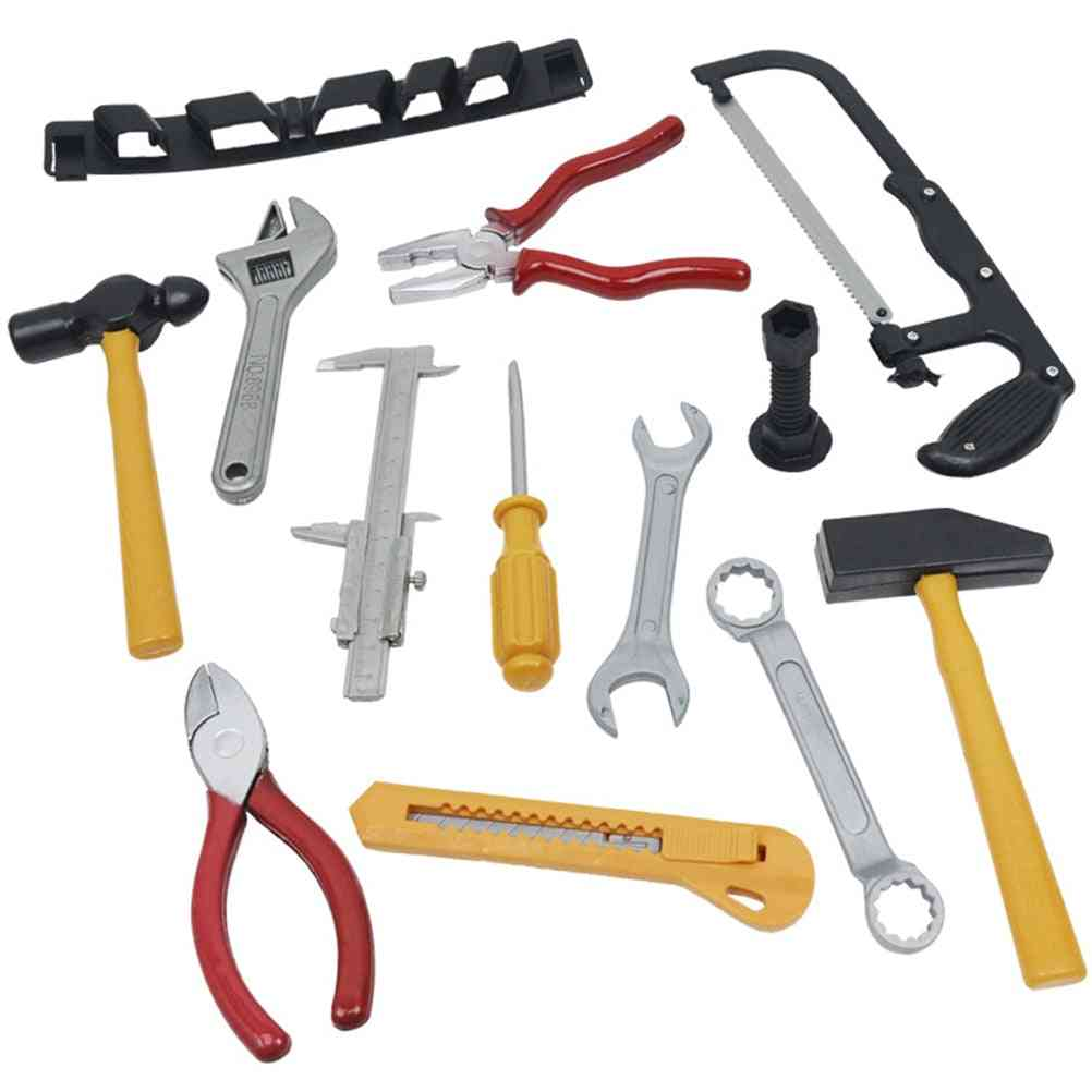 14pcs Workbench Home Repair Tool Toy Set For Kids