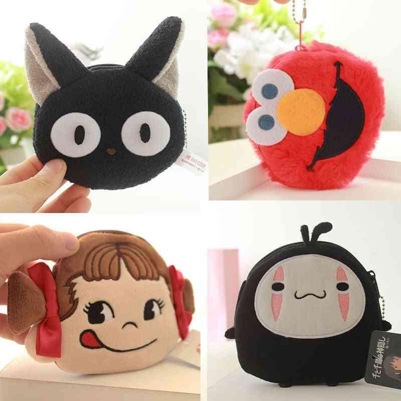 Cute Mini Soft Plush Cartoon Design Wallet