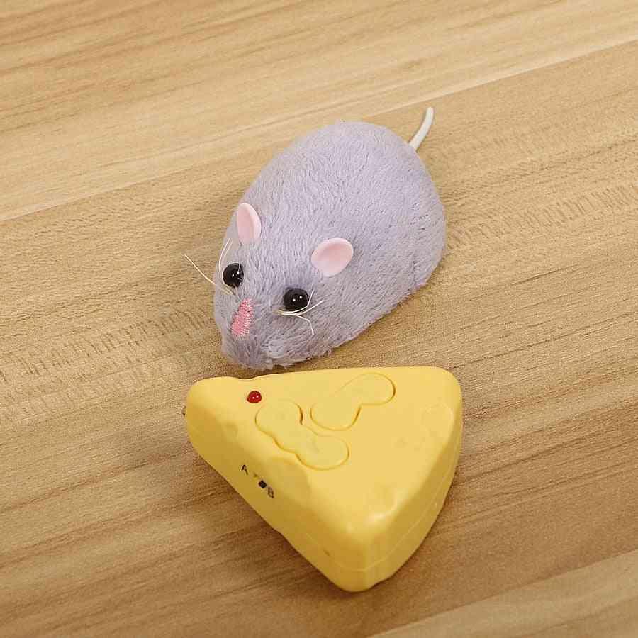 Wireless Electronic Remote Control Rat Plush Rc Mouse