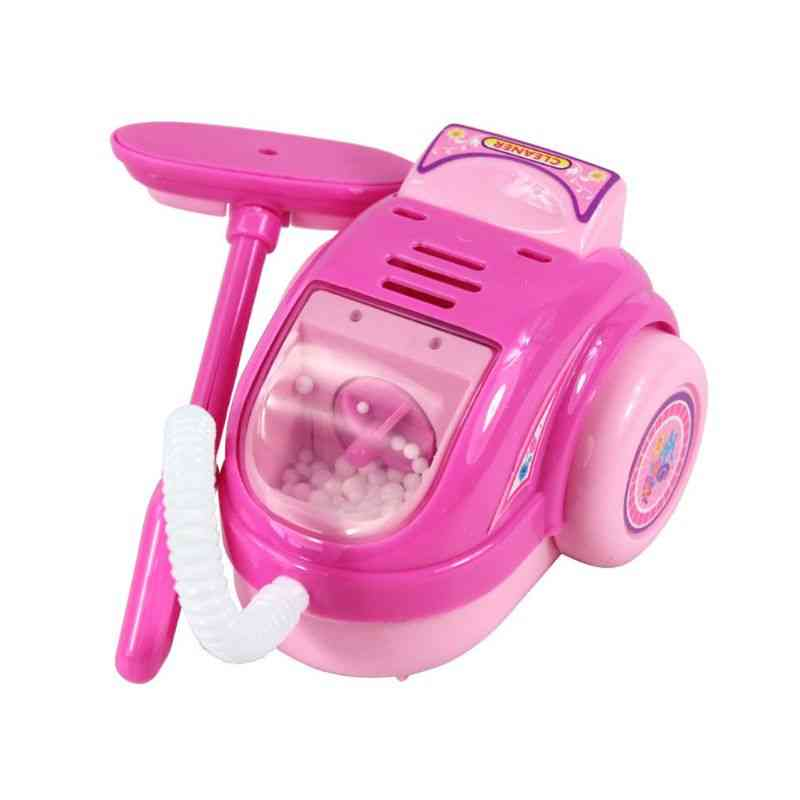 Mini Electrical Vaccum Cleaner Toy Set For Household Pretended Play