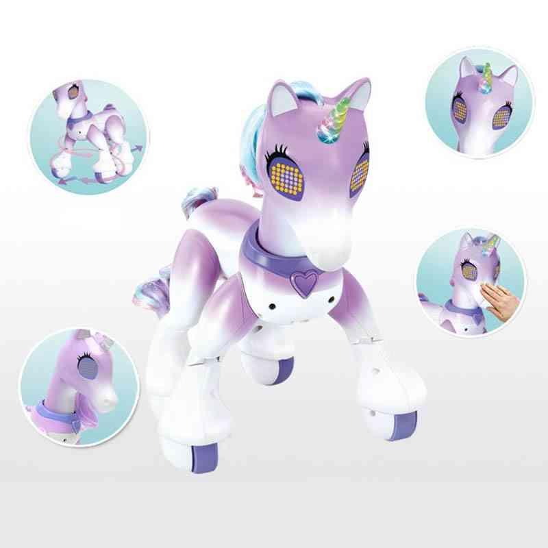 Remote Control Unicorns Horse Robot-induction Model Kids Toys