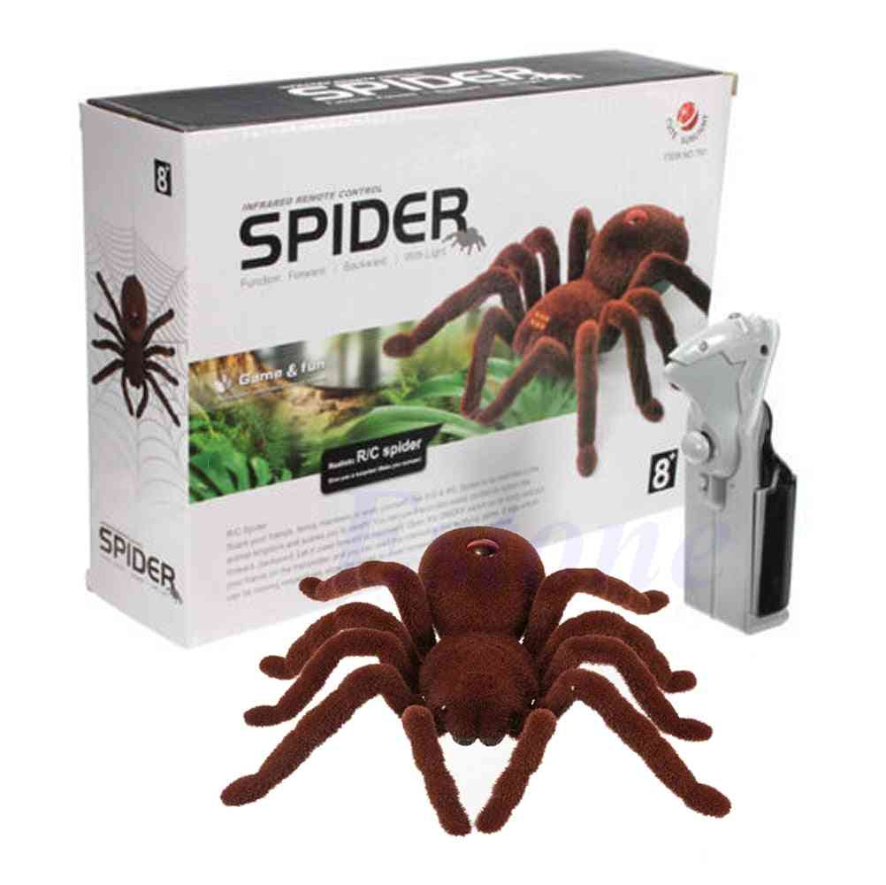 Remote Control Soft Plush Spider -infrared Tarantula Toy