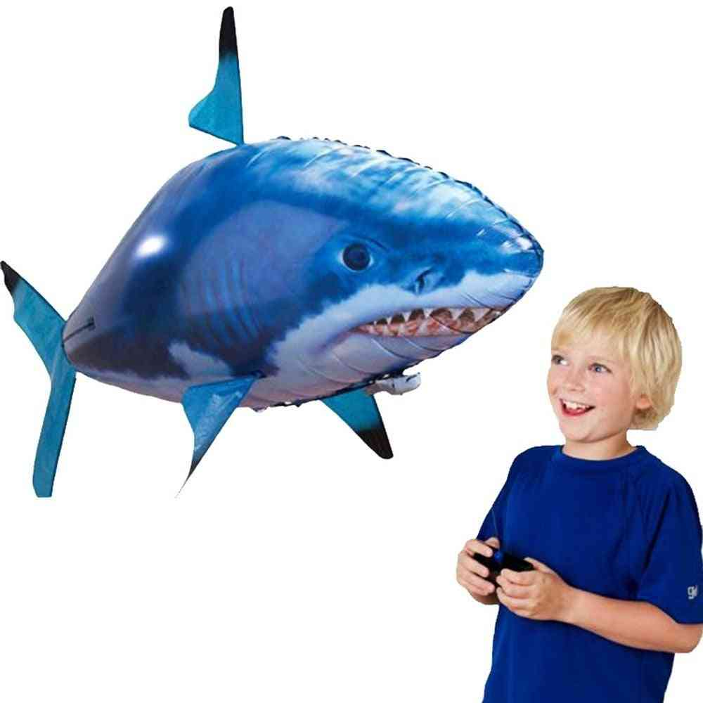 Remote Control Flying Shark And Fish Toy