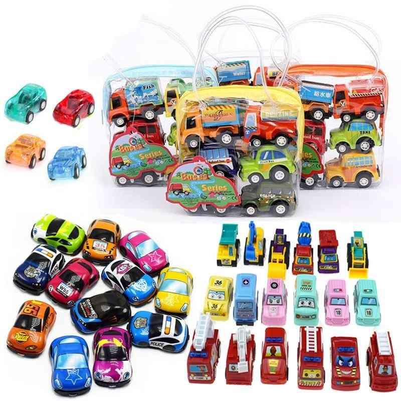 Mini Pull Back Car Set For