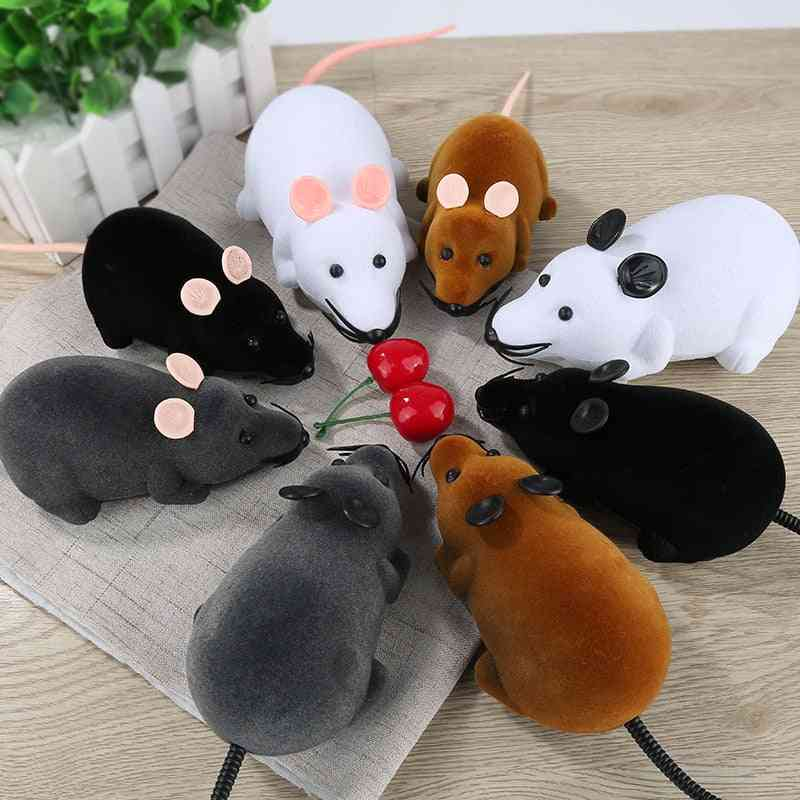 Wireless Remote Control Rat/mouse Toy For Cats