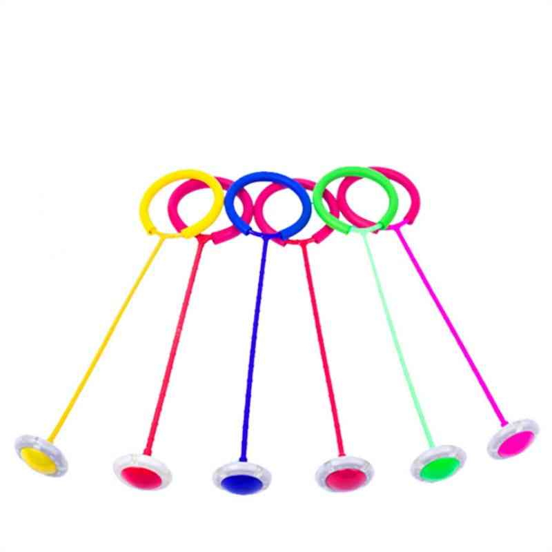 Glowing And Bouncing, Led Flashlight Sports Swing Ball