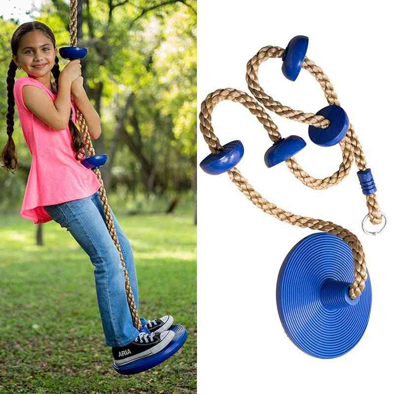 Kids Climbing Rope With Platforms-fitness Swing Set