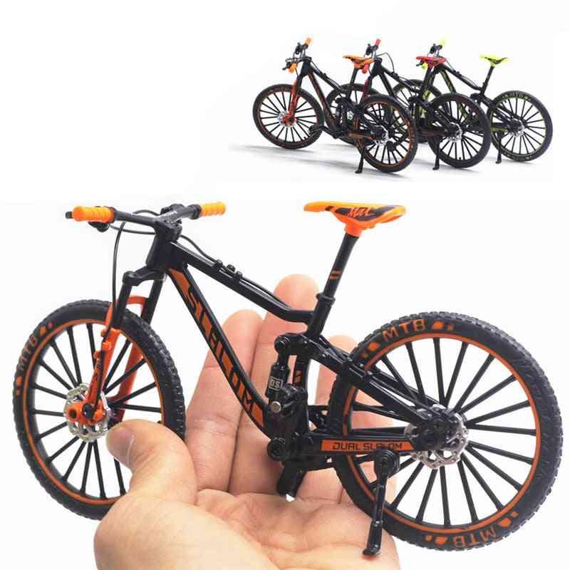 Mini Model Alloy Bicycle Toy, Finger Mountain Bike Toy