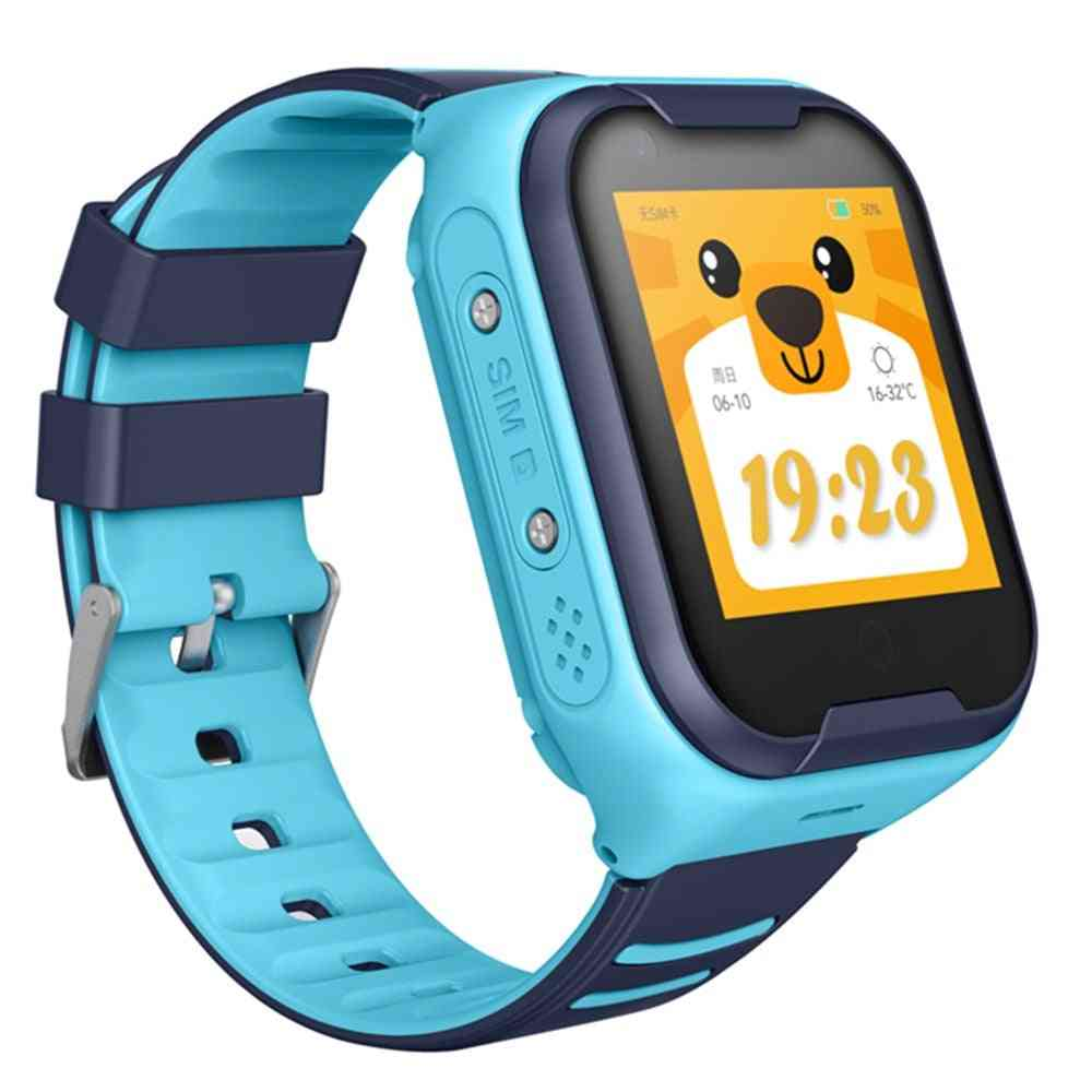 A36 4g Sim Card Phone Smart Watch- Hd Video Call Wifi  Remote Tracking Smart Watch, Gps Kids Safety Equipment