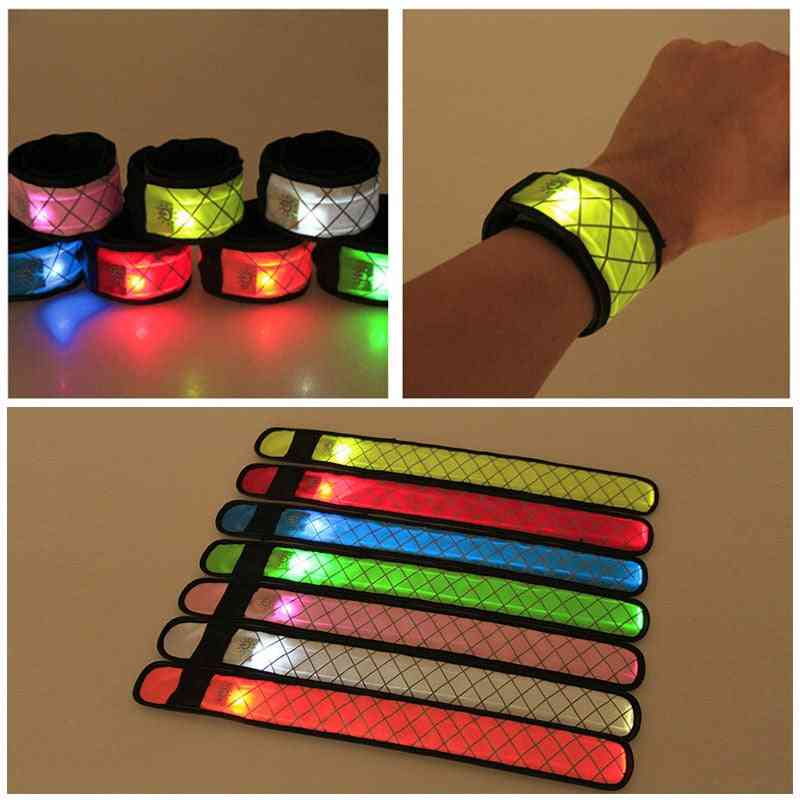 Led Sports Wrist Strap-glowing Armband Party Toy For