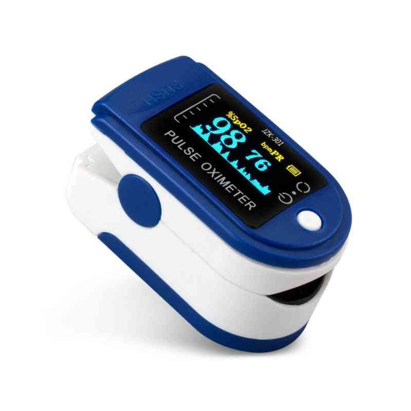 Finger Clip Oximetry Heart Rate Monitor Fingertip Pulse / Blood Pressure Oximeter Without Battery Health Care