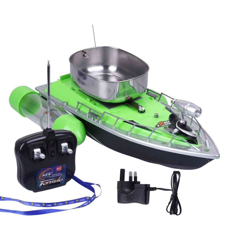 Electric Wireless, Remote Control Fishing Bait Boats With Charger- Kid's
