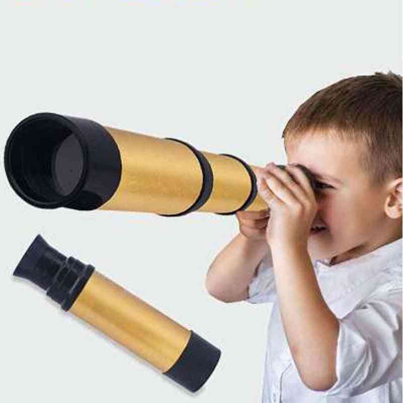 Pirate Telescope Kaleidoscope-outdoor, Portable Monocular Magnifying Glass