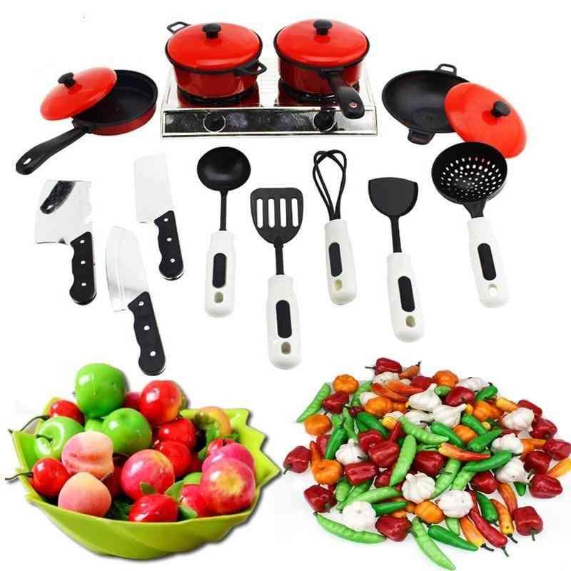 Mini Kitchen Cookware-pretend Play Toy Set