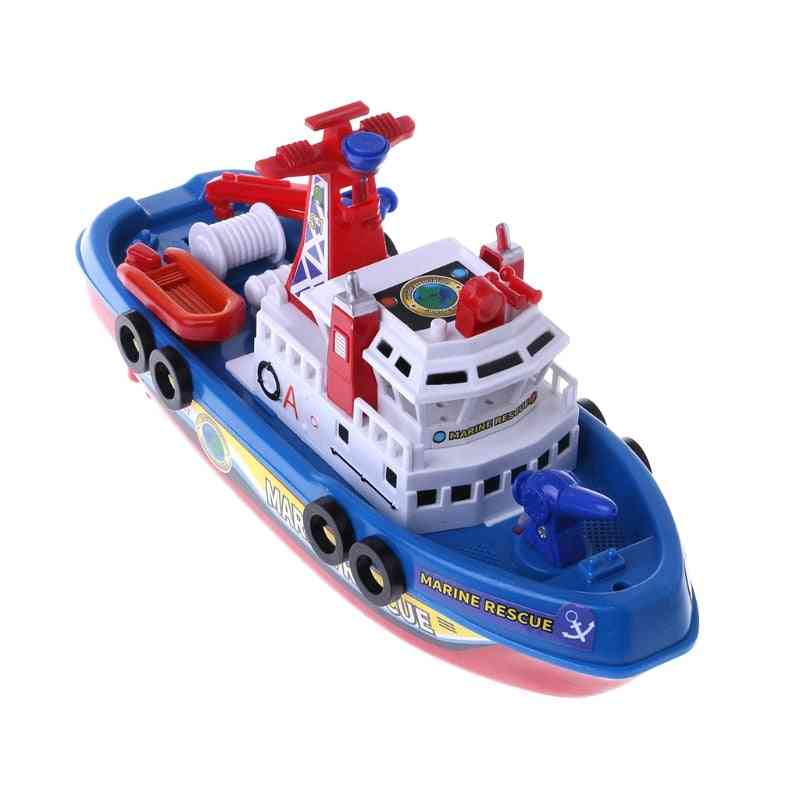 Electric Marine Rescue, Fire Fighting Boat Toy