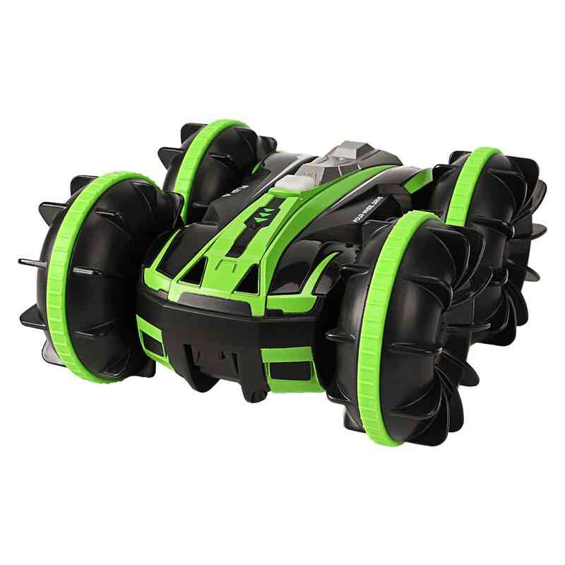 2-in-1 Double Sided, Amphibious Remote Control Car