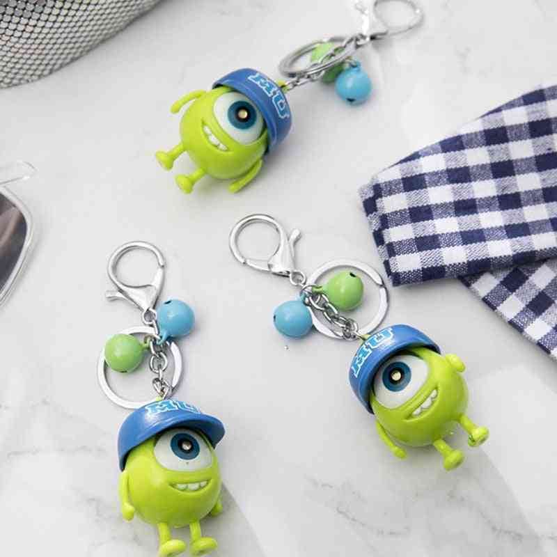 Cute Monsters Figure Led Keychain, Mike Big Eyes Toy