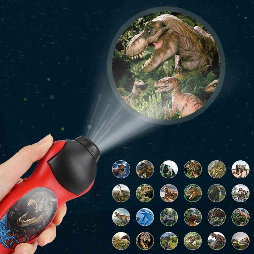 Kids Dinosaur Pattern Projector-flashlight