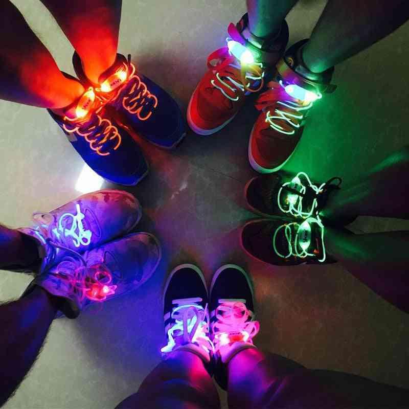 Fashion Led Luminous Shoelace, Glow In The Dark Improve Manipulative Ability