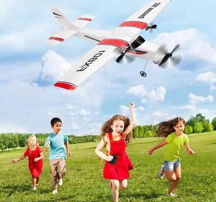 Beginner Electric Airplane, Rc Rtf Epp Foam Uav Remote Control Glider Plane