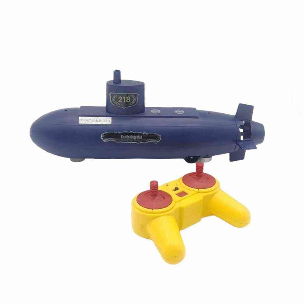 Rc Mini Submarine Model Toy