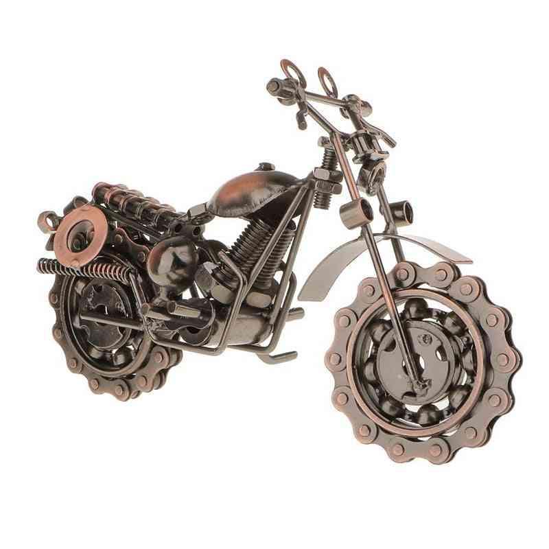 Vintage Metal Craft, Mini Motorcycle Model For Kids