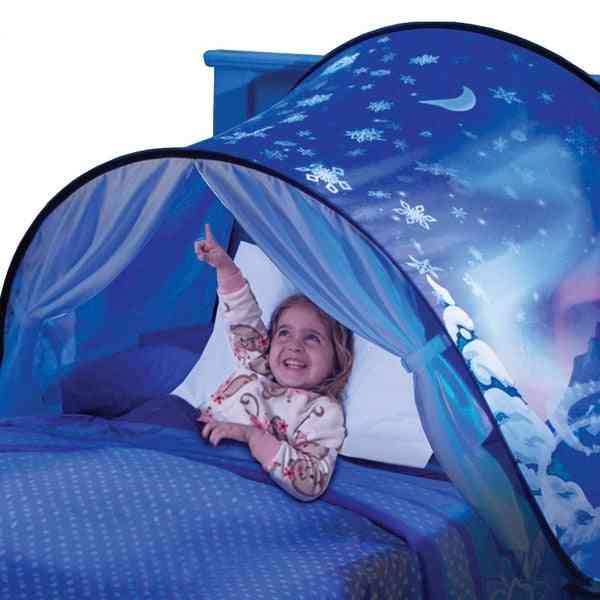 Fantasy-tents For Kids,  Foldable Magic Playhouse-night Sleeping Castle