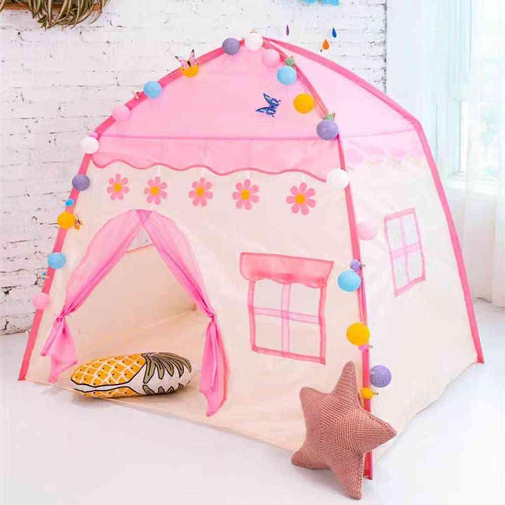 1.3m Portable's Wigwam Folding Tents-princess Castle